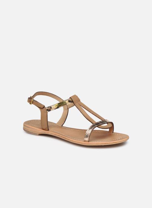 Sandales et nu-pieds Les Tropéziennes par M Belarbi Hamat Marron vue détail/paire
