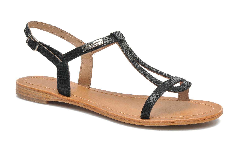 Sandales et nu-pieds Les Tropéziennes par M Belarbi Hamat Noir vue détail/paire