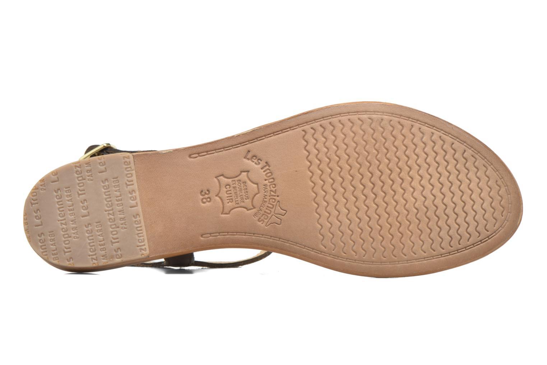 Sandales et nu-pieds Les Tropéziennes par M Belarbi Hamat Or et bronze vue haut