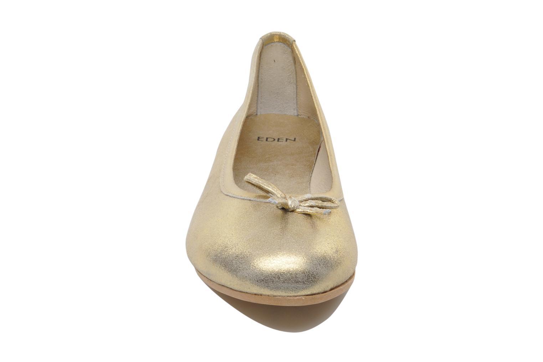 Ballerines Eden Bella II Or et bronze vue portées chaussures