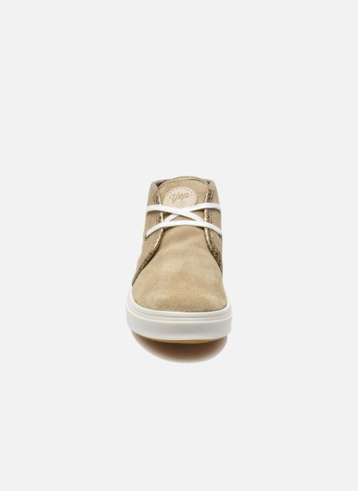 Trainers Yep Brunella Beige model view