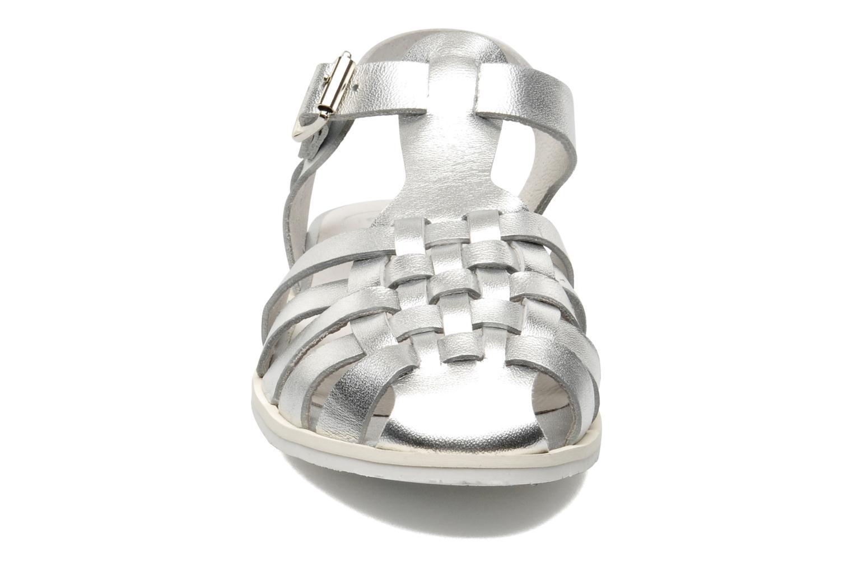 Sandales et nu-pieds Yep Bernice Argent vue portées chaussures