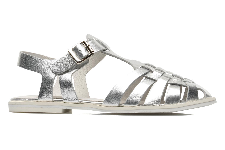 Sandales et nu-pieds Yep Bernice Argent vue derrière