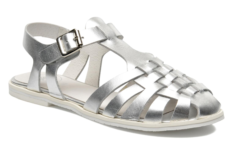 Sandales et nu-pieds Yep Bernice Argent vue détail/paire
