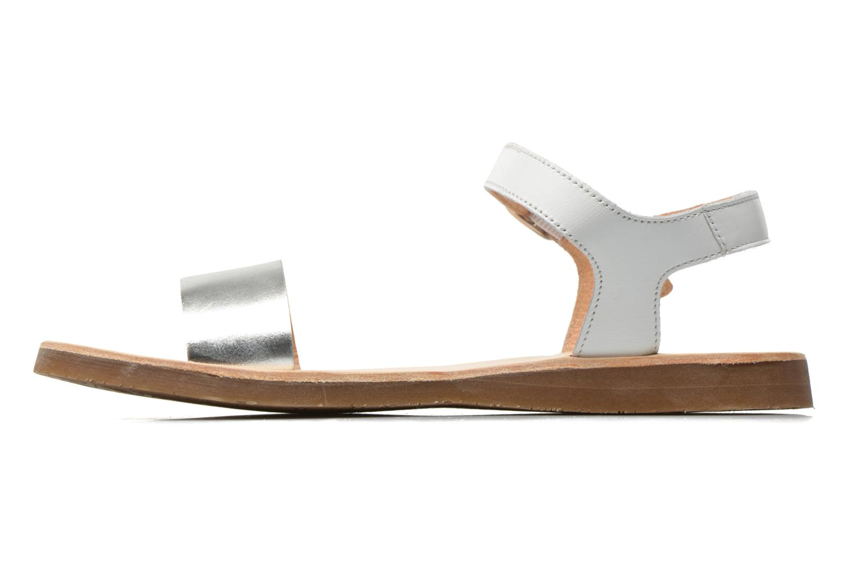 Sandales et nu-pieds Yep Biarritz Blanc vue face