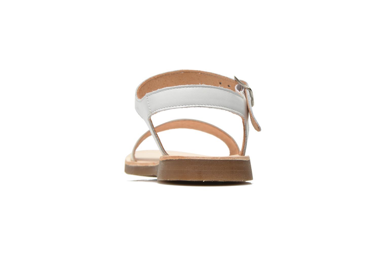 Sandales et nu-pieds Yep Biarritz Blanc vue droite