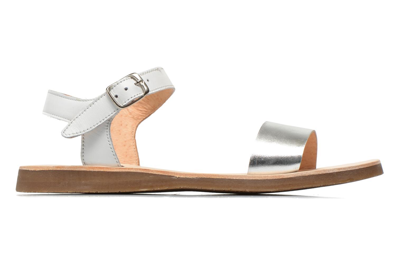 Sandales et nu-pieds Yep Biarritz Blanc vue derrière