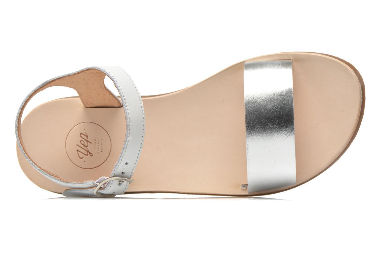 Sandales et nu-pieds Yep Biarritz Blanc vue gauche