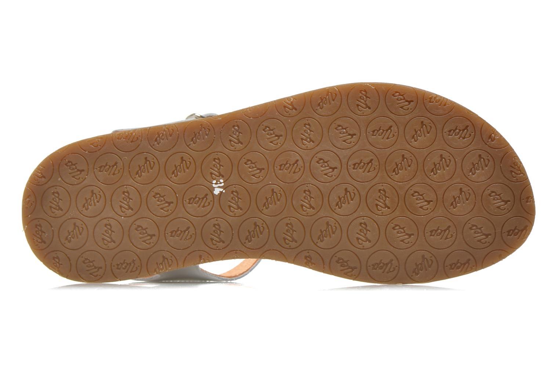 Sandales et nu-pieds Yep Biarritz Blanc vue haut