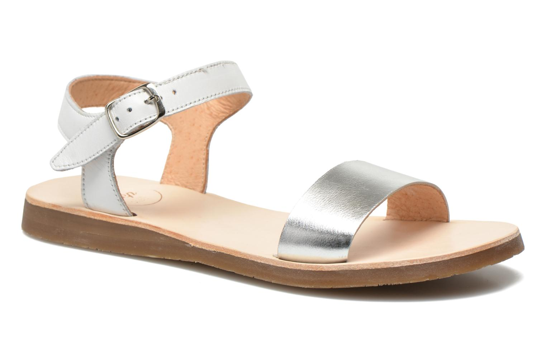 Sandales et nu-pieds Yep Biarritz Blanc vue détail/paire