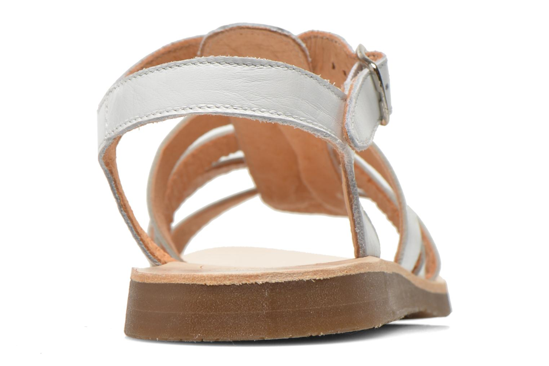Sandales et nu-pieds Yep Bilbao Blanc vue droite