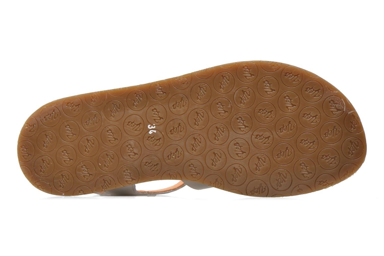 Sandales et nu-pieds Yep Bilbao Blanc vue haut