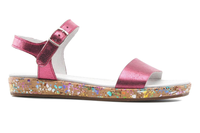 Sandales et nu-pieds Yep Brasilia Rose vue derrière