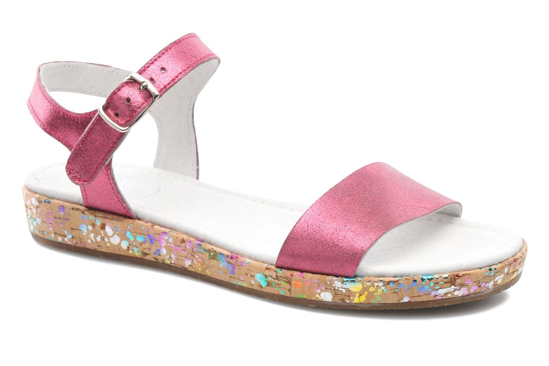 Sandales et nu-pieds Yep Brasilia Rose vue détail/paire