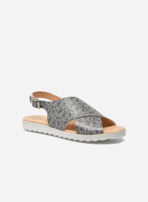 Sandales et nu-pieds Yep Benny Noir vue détail/paire