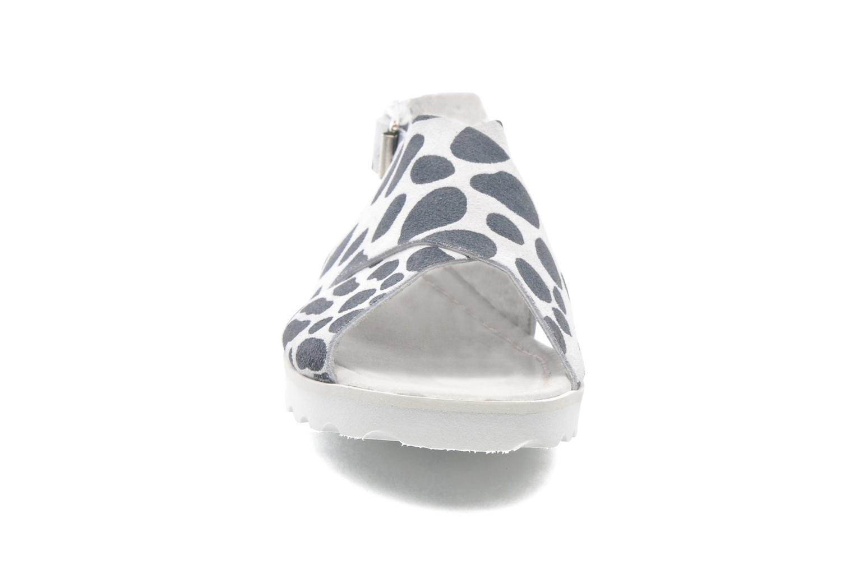 Sandales et nu-pieds Yep Benny Blanc vue portées chaussures