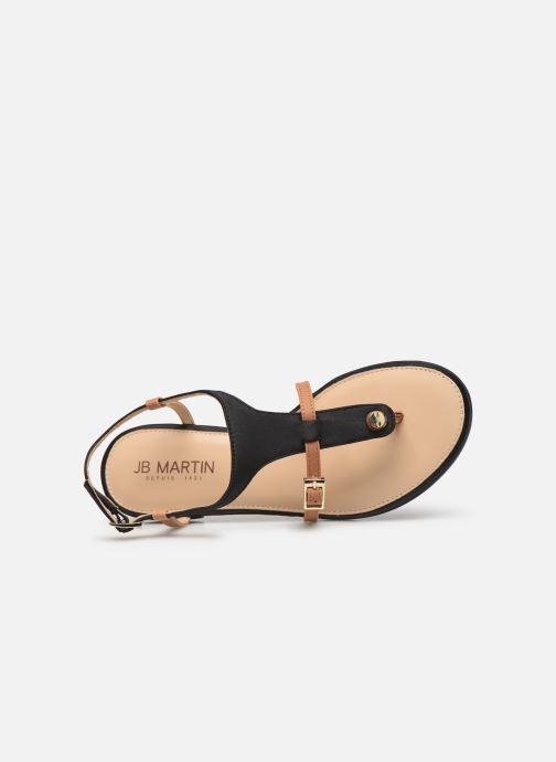 Sandali e scarpe aperte JB MARTIN 2GAELIA Nero immagine sinistra