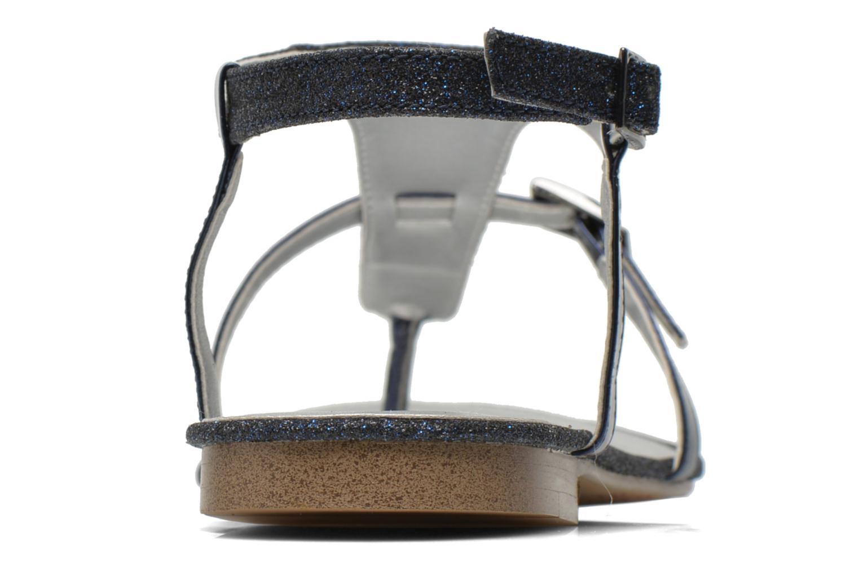 Sandales et nu-pieds JB MARTIN 2Gaelia Bleu vue droite