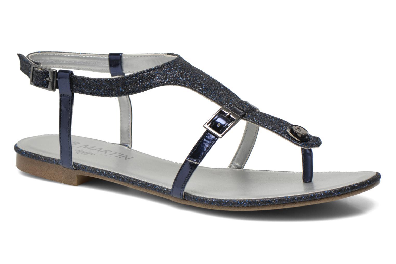 Sandales et nu-pieds JB MARTIN 2Gaelia Bleu vue détail/paire