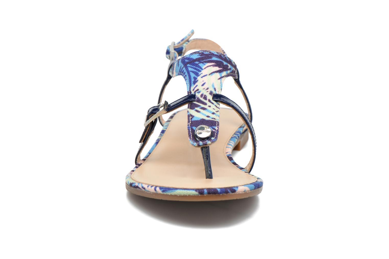 Sandales et nu-pieds JB MARTIN 2Gaelia Bleu vue portées chaussures