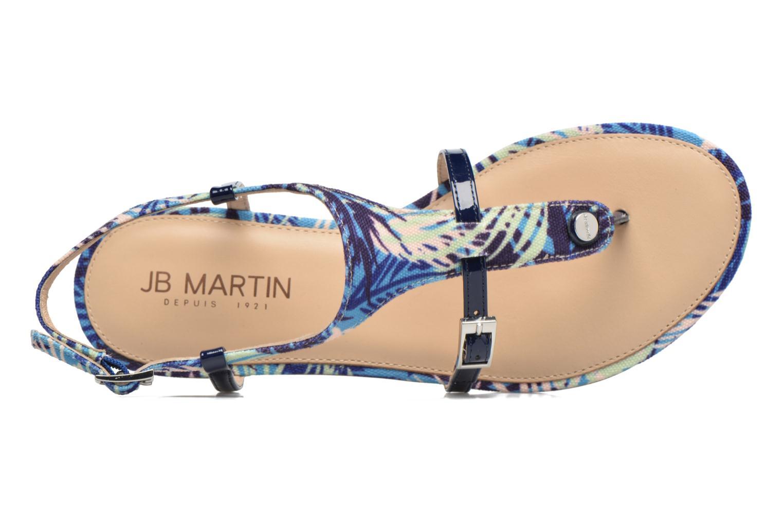 Sandales et nu-pieds JB MARTIN 2Gaelia Bleu vue gauche