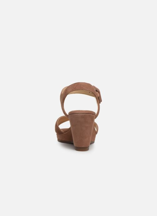 Sandales et nu-pieds JB MARTIN QUERIDA Rose vue droite