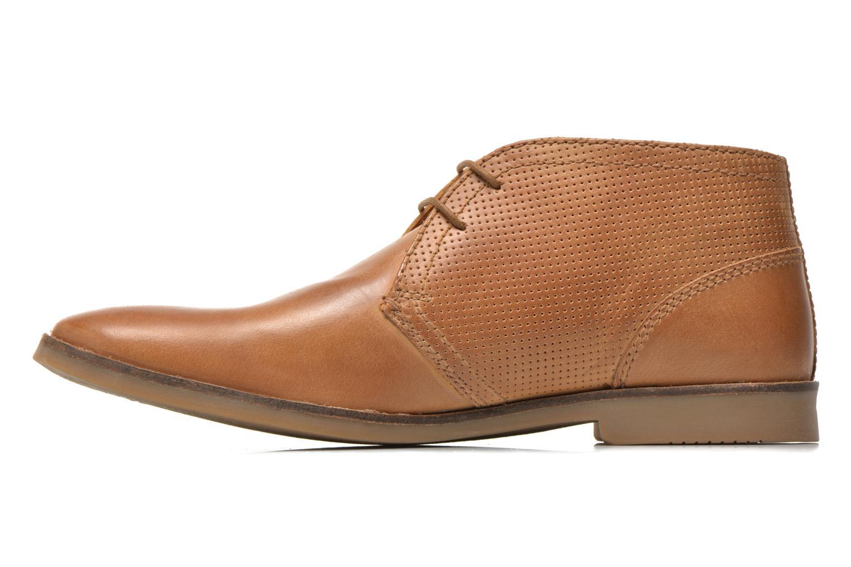 Chaussures à lacets Redskins Wolna Marron vue face