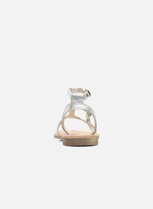 Sandals Ramdam by GBB CAMPANA Silver view from the right