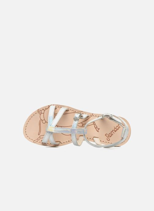 Sandals Ramdam by GBB CAMPANA Silver view from the left