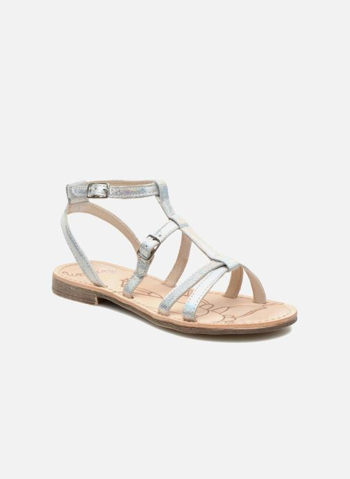 Sandals Ramdam by GBB CAMPANA Silver detailed view/ Pair view