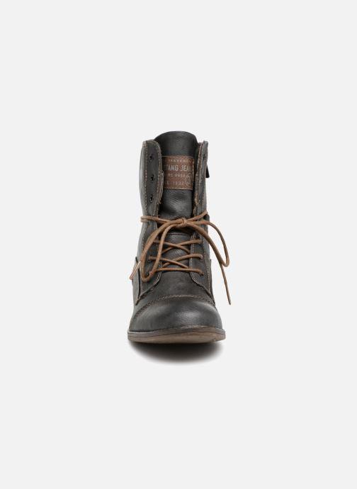 Bottines et boots Mustang shoes Julie Gris vue portées chaussures