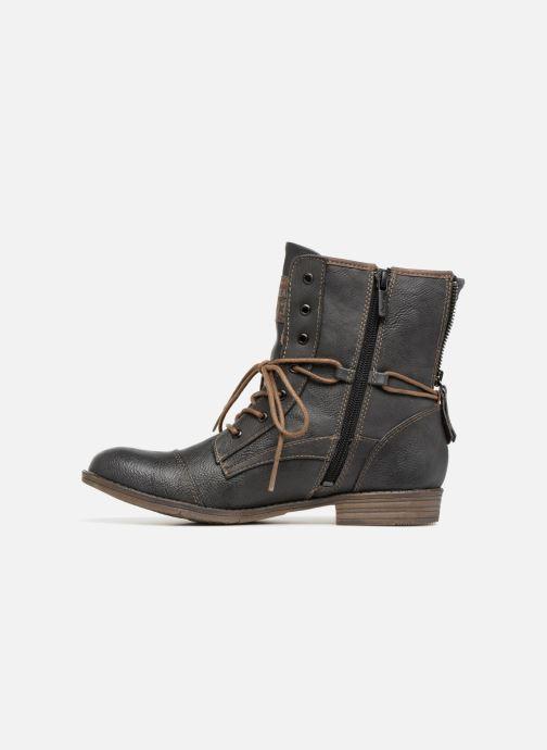 Bottines et boots Mustang shoes Julie Gris vue face