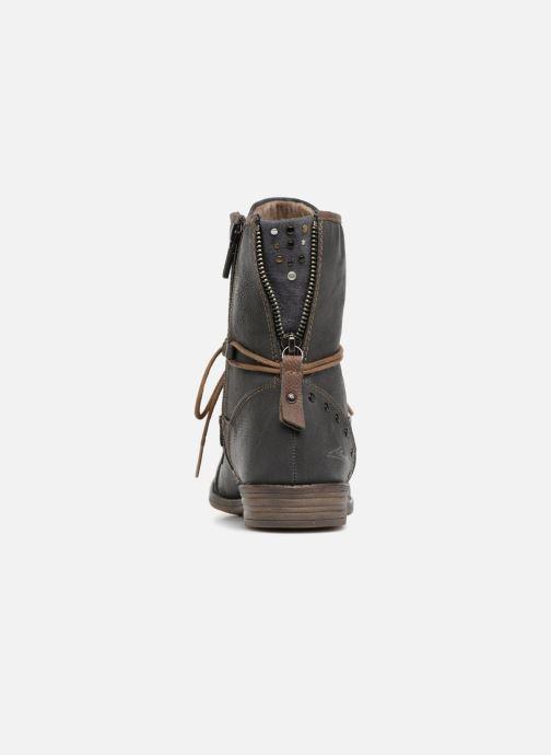 Bottines et boots Mustang shoes Julie Gris vue droite