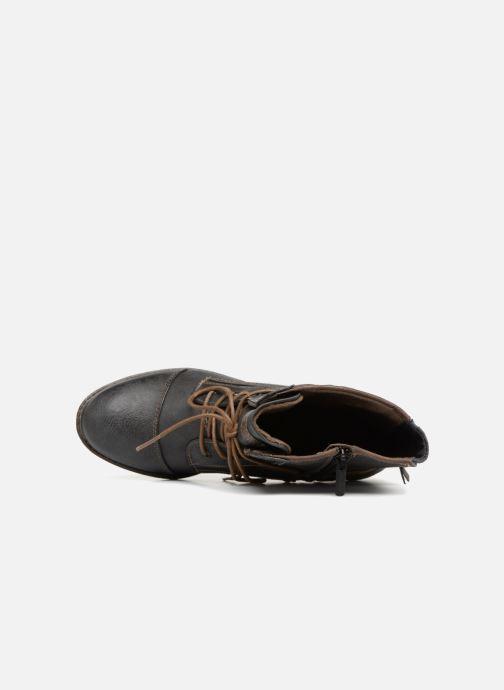 Boots en enkellaarsjes Mustang shoes Julie Grijs links