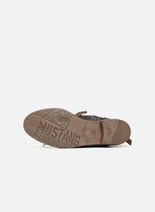 Bottines et boots Mustang shoes Julie Gris vue haut