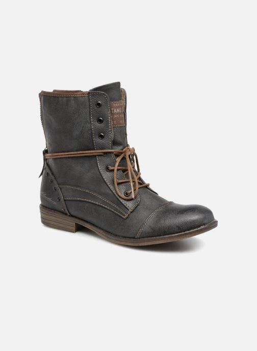 Boots en enkellaarsjes Mustang shoes Julie Grijs detail