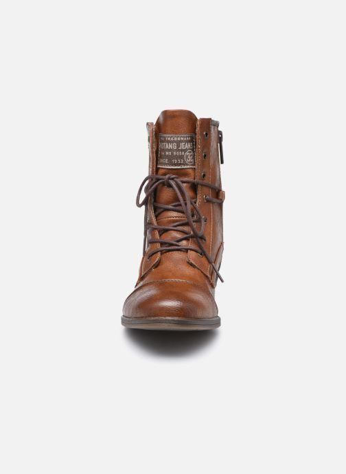 Stiefeletten & Boots Mustang shoes Julie braun schuhe getragen