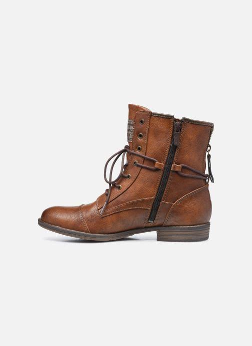 Boots en enkellaarsjes Mustang shoes Julie Bruin voorkant