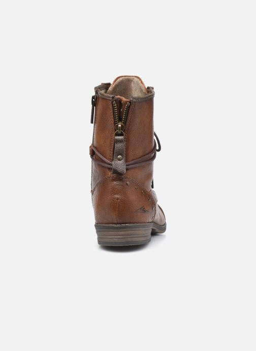 Boots en enkellaarsjes Mustang shoes Julie Bruin rechts