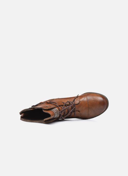 Stiefeletten & Boots Mustang shoes Julie braun ansicht von links