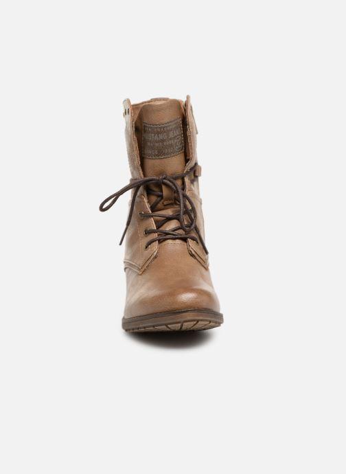 Boots en enkellaarsjes Mustang shoes Julie Bruin model
