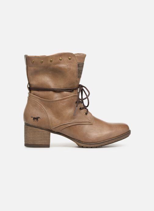 Boots en enkellaarsjes Mustang shoes Julie Bruin achterkant