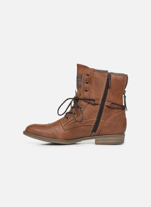 Bottines et boots Mustang shoes Julie Marron vue face