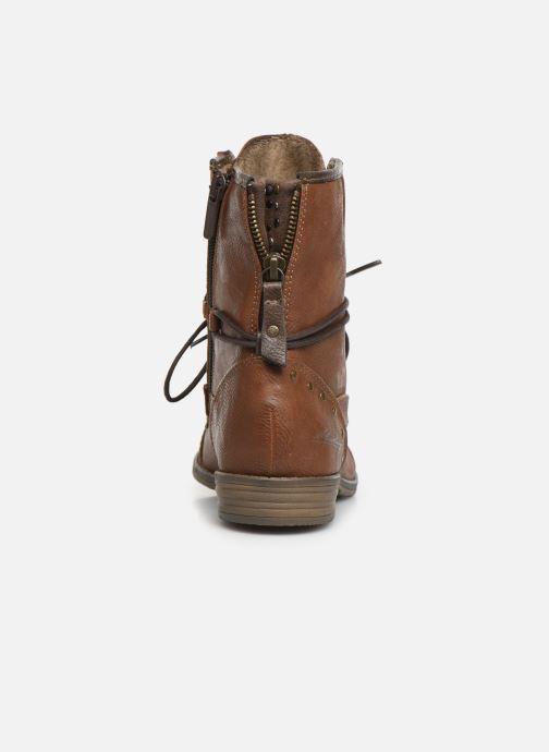 Bottines et boots Mustang shoes Julie Marron vue droite