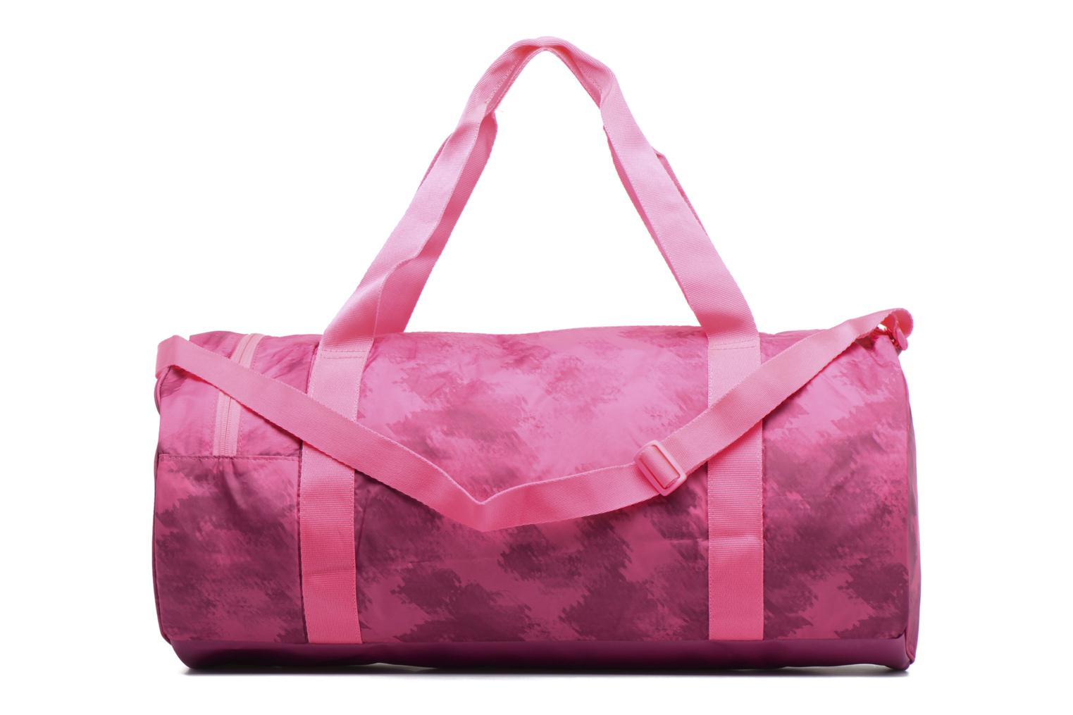 Bolsas de deporte Puma Fit AT Sports Duffle Rosa vista de frente