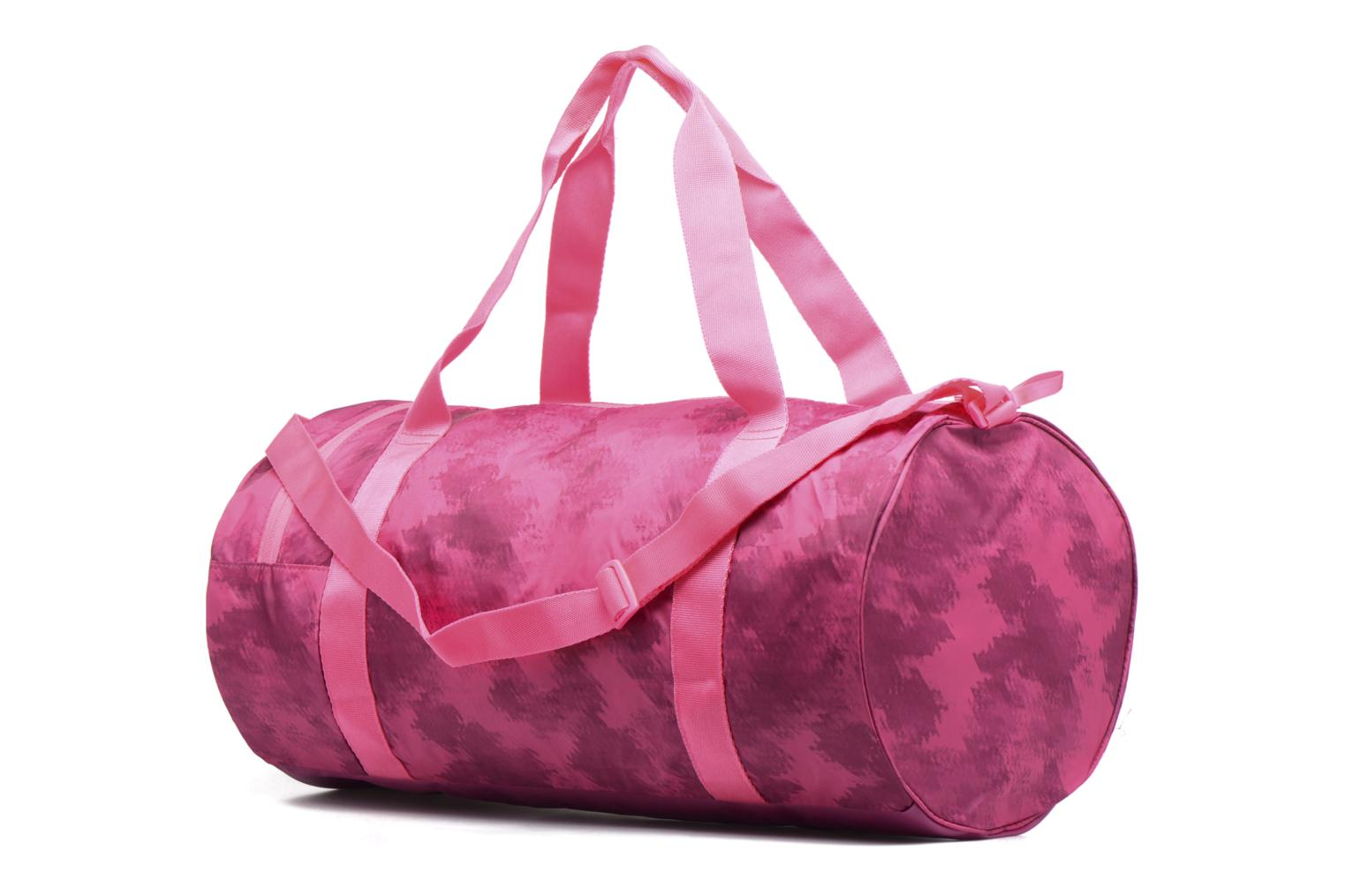 Bolsas de deporte Puma Fit AT Sports Duffle Rosa vista lateral derecha