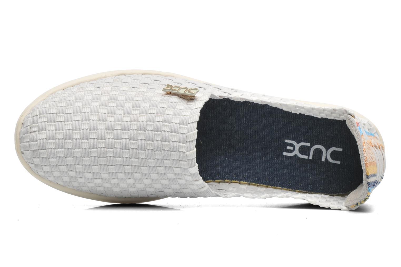 Sneakers DUDE E-last simple Hvid se fra venstre