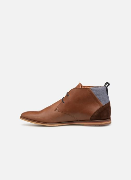 Lace-up shoes Schmoove Swan desert Brown front view