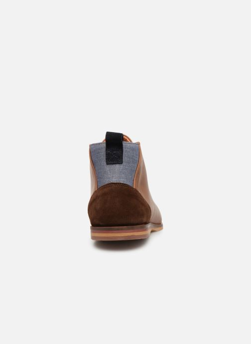 Lace-up shoes Schmoove Swan desert Brown view from the right