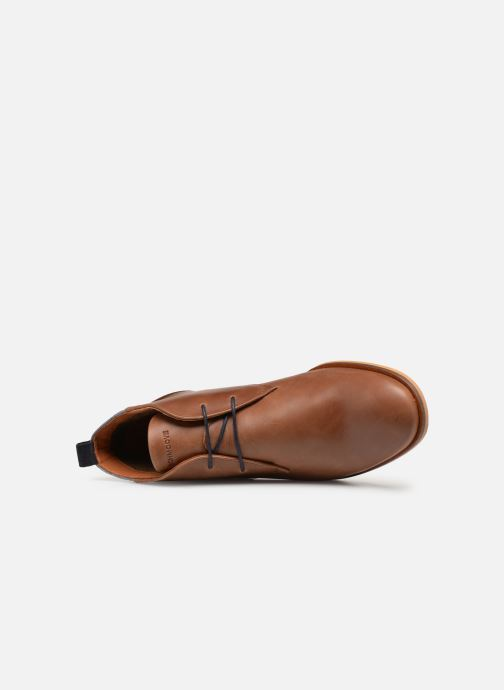 Lace-up shoes Schmoove Swan desert Brown view from the left